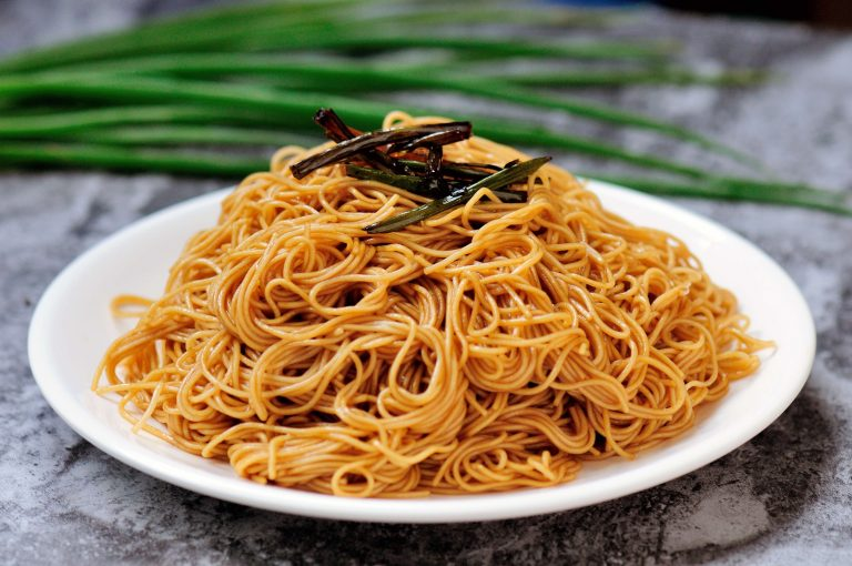 Spring Onion Noodles