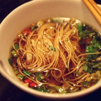 Quick and Easy Chinese Noodle Soup