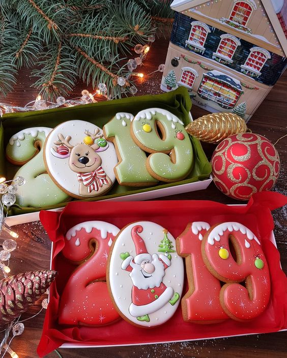 70 Cute And Easy Christmas Cookies Ideas You Ll Love This Holiday Season Page 10 Of 75 Kornelia Beauty