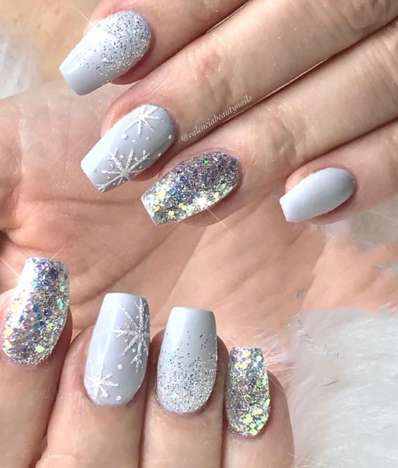 68 Trendy Nail Art Designs To Inspire Your Winter Mood Page 13 Of
