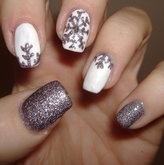 68 Trendy Nail Art Designs to Inspire Your Winter Mood