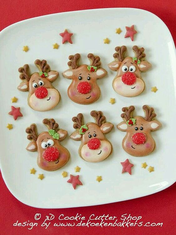 70 Cute And Easy Christmas Cookies Ideas You Ll Love This