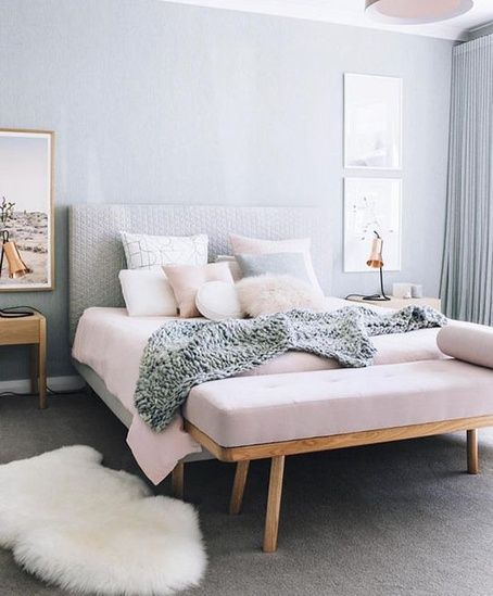 cozy bedroom ideas; bedroom decor ideas for teens; Small and warm cozy bedroom ideas; DIY cozy bedroom decor; boho bedroom decor; Pink and grey bedroom;Minimalist home design.