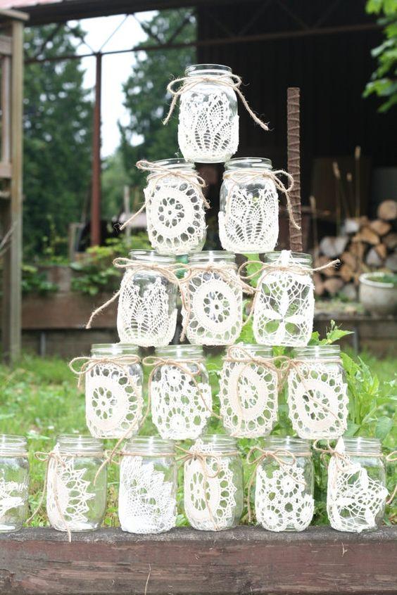 Glasses Mason jars; mason jar crafts for kids; home decoration; rustic mason jar; painted mason jar; Mason jars for wedding.
