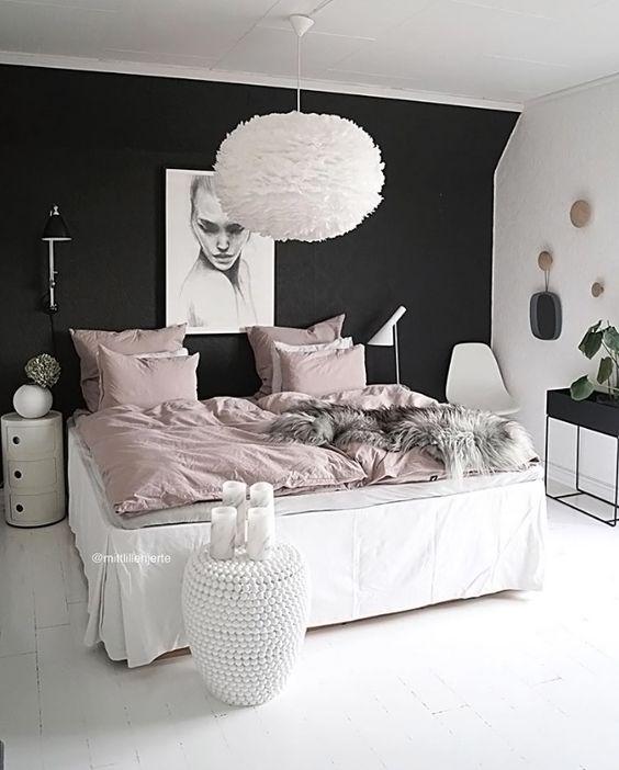 cozy bedroom ideas; bedroom decor ideas for teens; Small and warm cozy bedroom ideas; DIY cozy bedroom decor; boho bedroom decor; Pink and grey bedroom;Minimalist home design.
