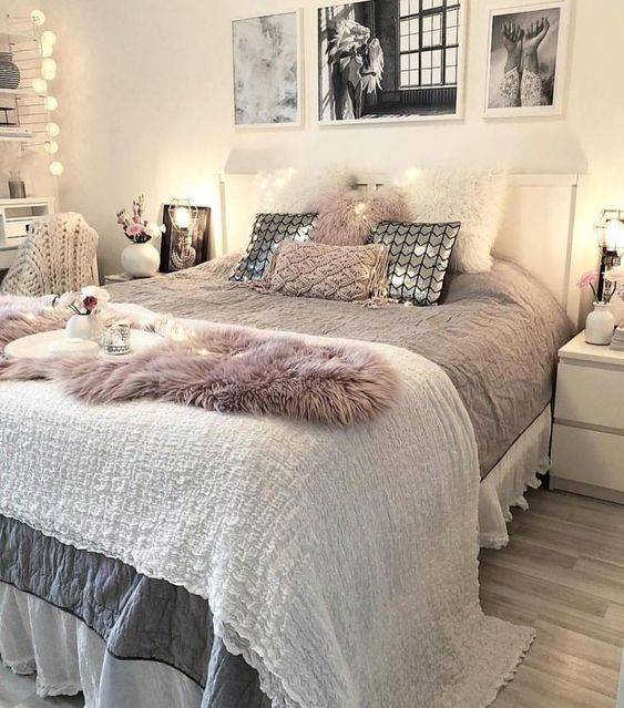 54 Awesome Decoration Ideas To Make Your Bedroom Cozy And