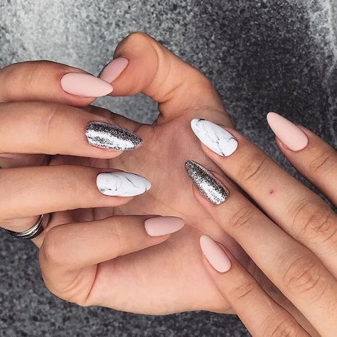 50 lovely designs for almond nails you won't resist  page