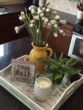 coffee table tray decor;rustic tray decors; farmhouse tray ideas; #homedecorations; #homedecor;