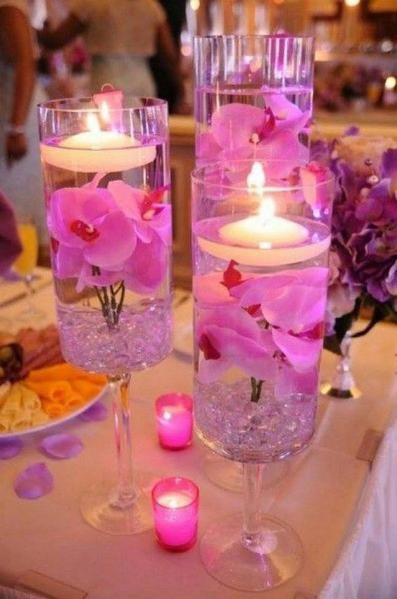 Searching for romantic diy table centerpieces for this valentine's day? Check our collection of floating candle crafts. #diy #candle #ChristmasEve #floatingcandles #cranberries#festive #holidaycandle #diyfloatingcandle #weddingdecor