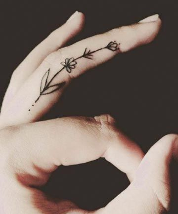 Tiny finger tattoos for girls; small tattoos for women; rose finger tattoos; ring finger tattoos; finger tattoos with meaning; small word tattoos; cute finger tattoos.