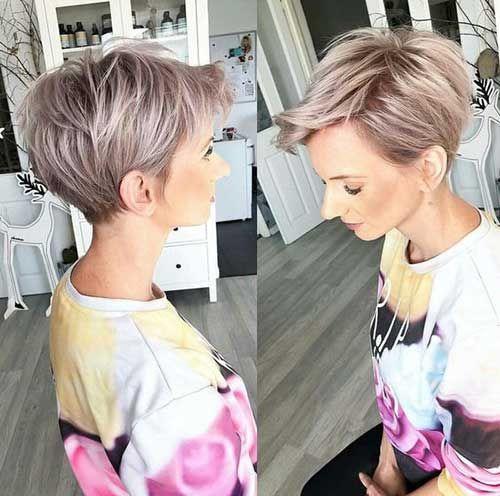 Stylish Pixie Haircut; mind-blowing short hairstyle; Short pixie haircuts; jazzy short cuts; Super Muy Corto Pixie Cortes de pelo Y Colores de Pelo para 2018-2019