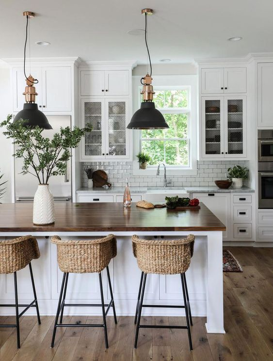 50+ Awesome Decorating Ways for Your Kitchen Design