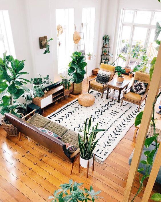57 Inspiring Bohemian Living Room Design Ideas For Your Home Kornelia Beauty