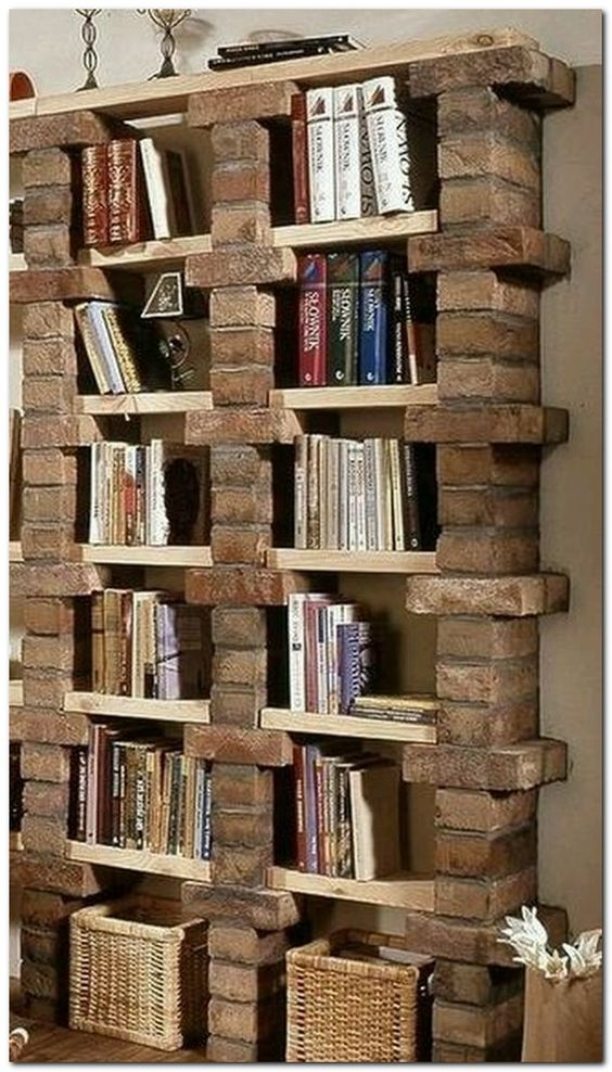 60 Creative Bookshelf Ideas That Will Beautify Your Home ...