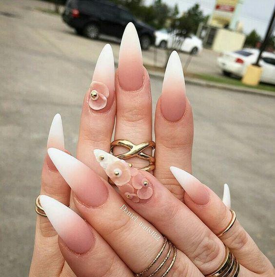 45 Wonderful Ombre Nail Art Design Ideas - Kornelia Beauty