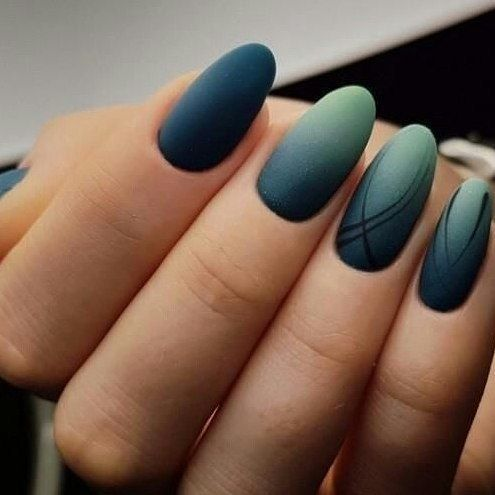 45 wonderful ombre nail art design ideas  page 13 of 45