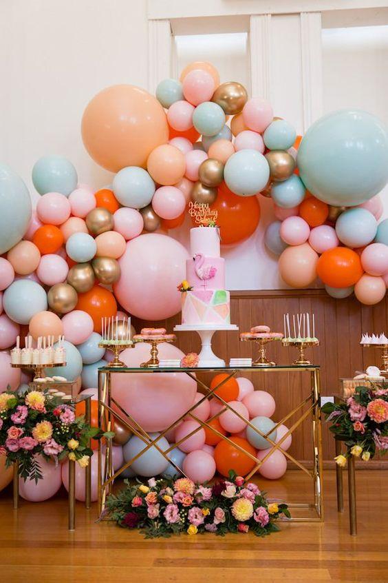 wedding balloon decorations, wedding decorations