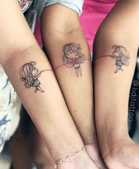 BFF tattoos, best friend tattoos, friendship tattoos, best friend tattoos unique, bestie tattoos