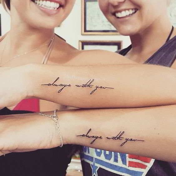 BFF tattoos, best friend tattoos, friendship tattoos, best friend tattoos unique, bestie tattoos
