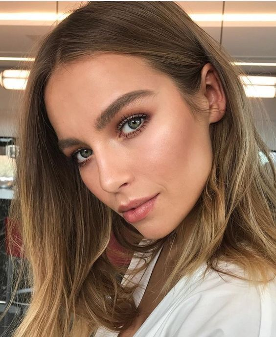 43 Summer Fresh Makeup Looks for Girls summer makeup ideas, fresh makeup looks, natural makeup ideas, makeup looks