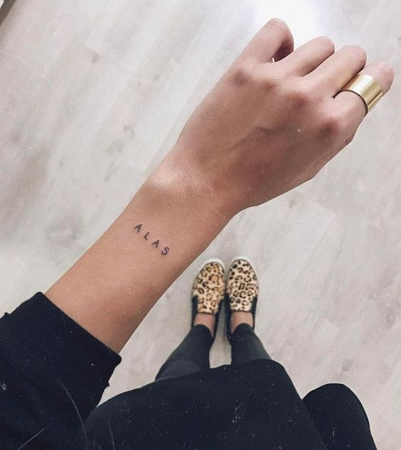 40+ Impressive Short Tattoo Quotes for Women short tattoo quotes, tattoo quotes, letter tattoos, inspirational tattoos, meaningful tattoos