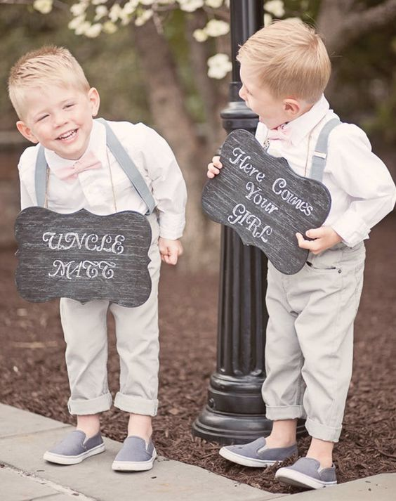 37 Cute And Inspiring Flower Girl And Bearer Boy Ideas