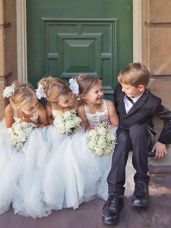 37 Cute And Inspiring Flower Girl And Bearer Boy Ideas wedding,wedding ideas,flower girls,bearer boys