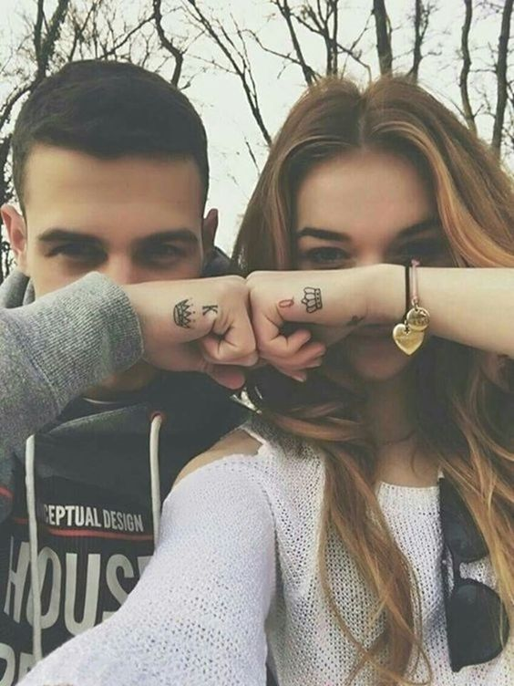 38 Inspiring Couple Tattoo For Your Perfect Match tattoos, couple tattoos,  tattoo ideas,small tattoo